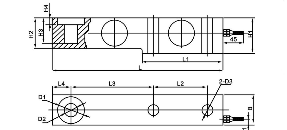 sb称重传感器 sb称重模块